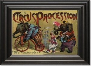 childrens-prints-circus-procession-1888-framed