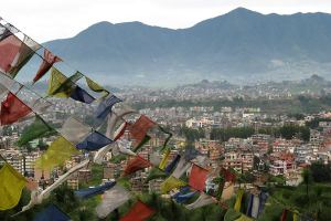 Nepal - Kathmandu from Monkey Temple