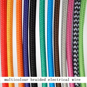 -10m-lot-2-0-75-Vintage-multicolour-white-black-red-green-blue-braided-electrical-font
