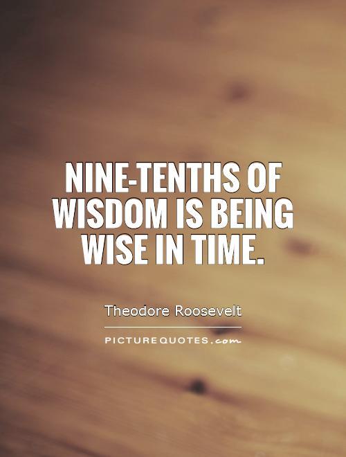Time's Wisdom